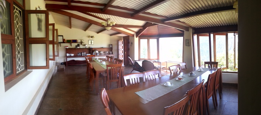 Acres Wild Farmstay Dining Area
