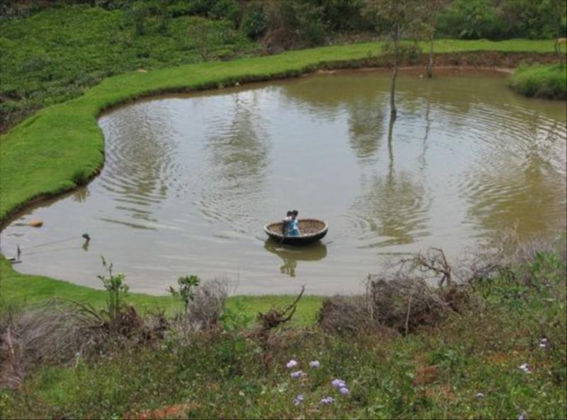 Natural Pond at Acres Wild Farm, Coonoor